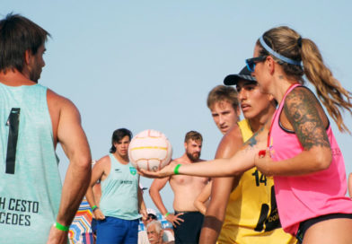 Exitoso Primer Abierto Nacional de Beach Cestoball en Pinamar